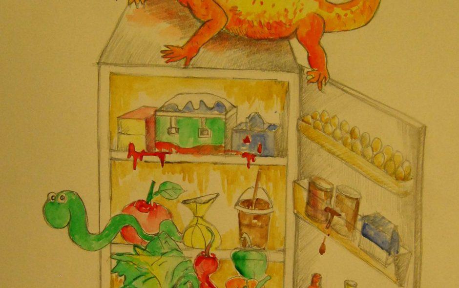 Bine bine și eu cu viermii din frigider ce fac?